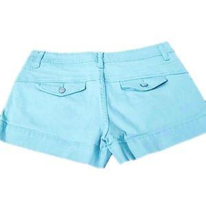 Sz 7 American Rag shorts Turquoise Aqua
